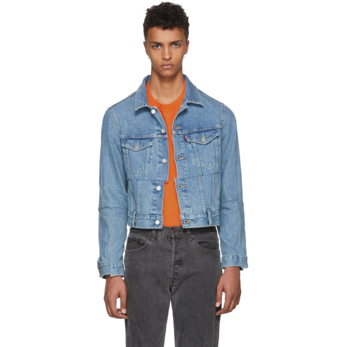 5c778ec976c blue-levis-edition-cut-up-denim-jacket by vetements