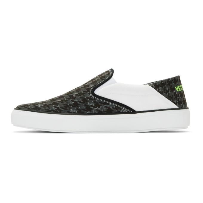 Vetements Black & Grey Babouche Sneakers