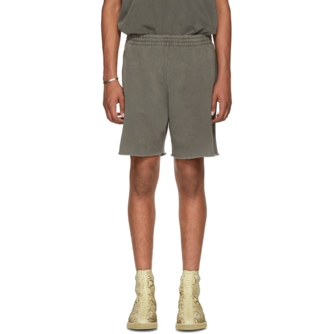 YEEZY Grey Sweat Shorts