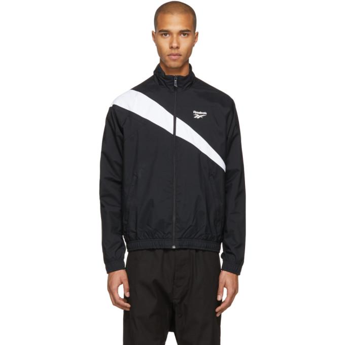 REEBOK Classics Black And White Lf Track Jacket 3b3aa371c
