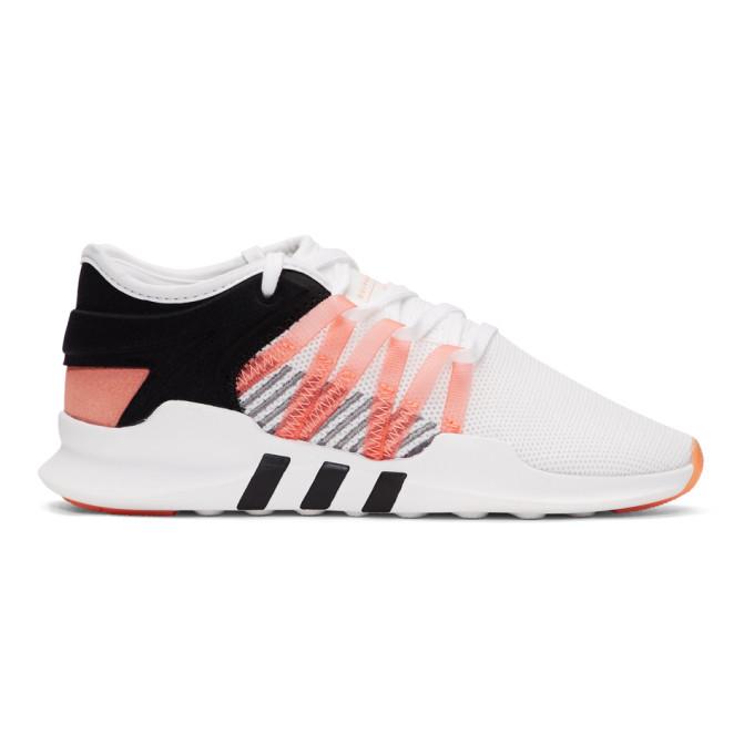 Adidas Women'S Eqt Racing Adv Originals Running Shoe in WhiteCoral