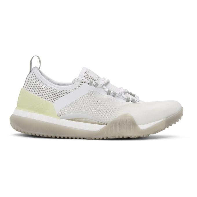 Adidas By Stella Mccartney White Pureboost Training X Tr 3.0 Sneakers