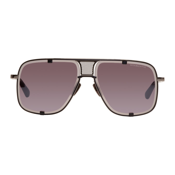 d68a5afc2765 DITA Black Limited Edition Mach Five Sunglasses | ModeSens