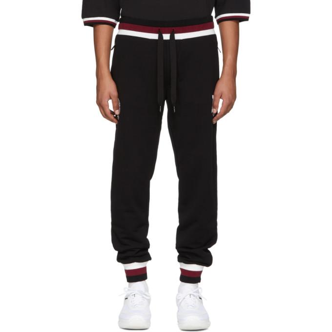 Dolce And Gabbana Black Logo Sweatpants, N0000 Black from DOLCE & GABBANA