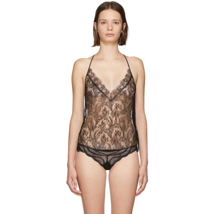 Kiki De Montparnasse KIKI DE MONTPARNASSE BACK ALL OVER LACE T CAMISOLE
