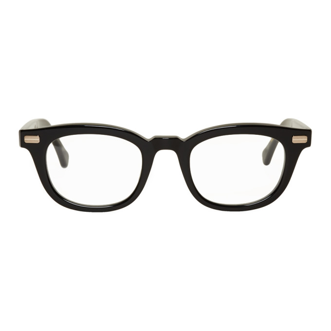 NATIVE SONS Native Sons Black Nelson Glasses in Black/Clear