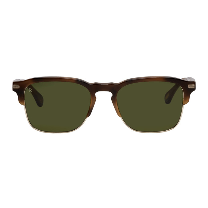 RAEN TORTOISESHELL AND GREEN WILEY-A SUNGLASSES