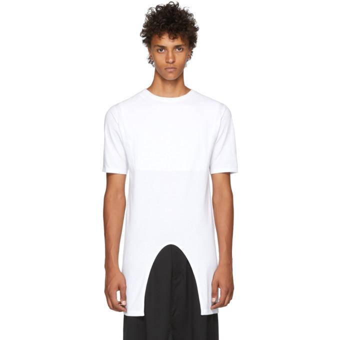 KOZABURO Kozaburo White Under T-Shirt