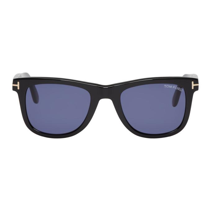 TOM FORD Black Leo Sunglasses