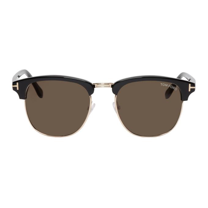 TOM FORD Black Henri Sunglasses