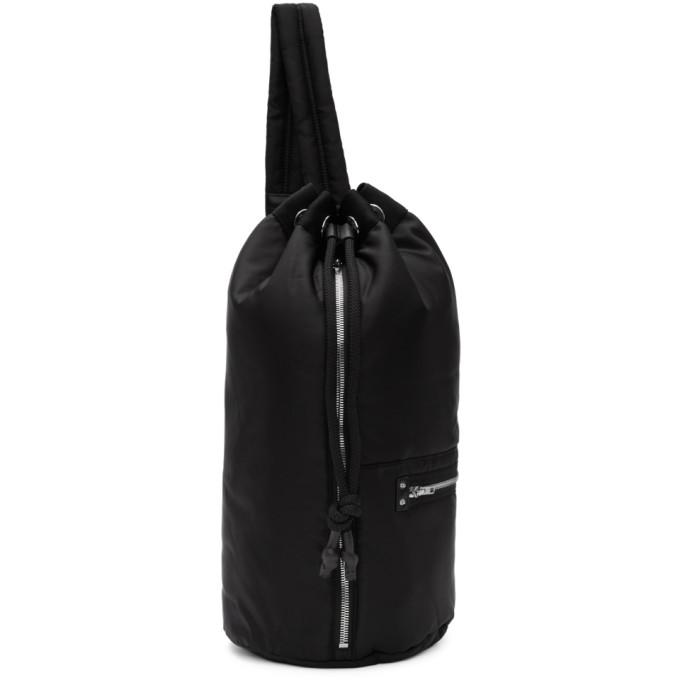Mcq Alexander Mcqueen Black Loveless Gym Backpack, 1000 Black