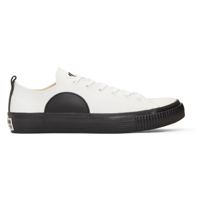 MCQ BY ALEXANDER MCQUEEN White Plimsoll Sneakers