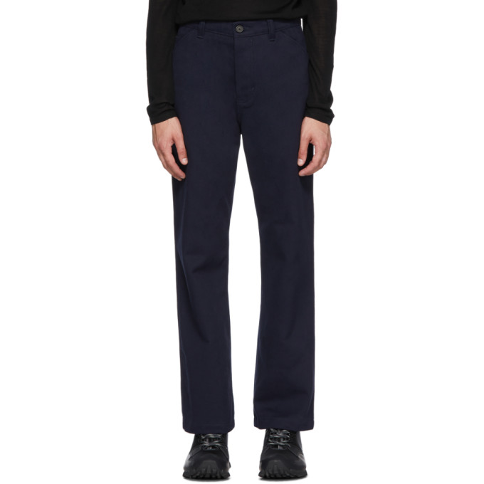 Opening Ceremony Workwear Trousers in Navy