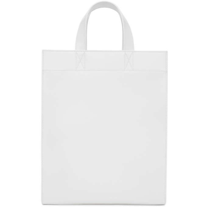White Box Tote Bag from SSENSE