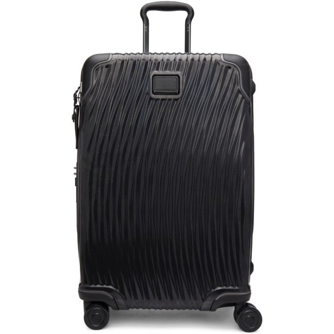 TUMI BLACK SHORT TRIP PACKING SUITCASE