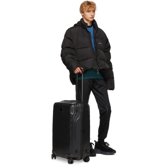 TUMI Black Short Trip Packing Suitcase