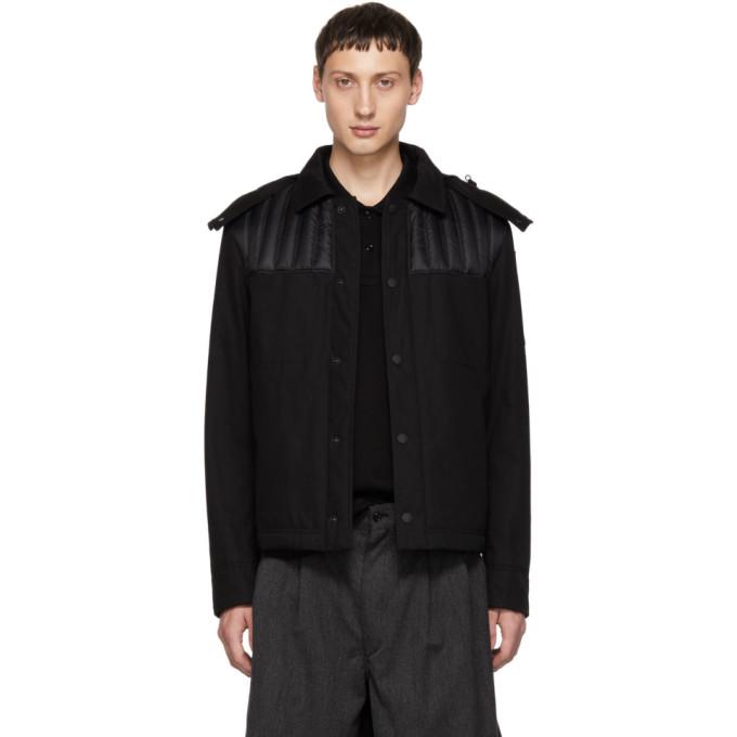 MONCLER GENIUS Moncler Genius 5 Moncler Craig Green Black Down Pike Jacket in 999 Black