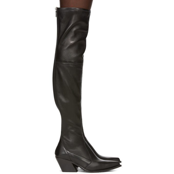 Givenchy 70mm Stretch Leather High