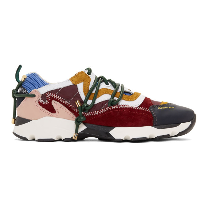 Carven CARVEN MULTICOLOR NAYELL RUNNING SNEAKERS
