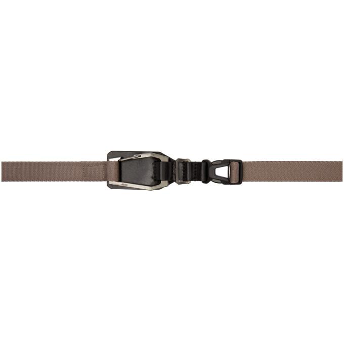 Julius Grey Clip Belt In Gray  229b9ee3d682