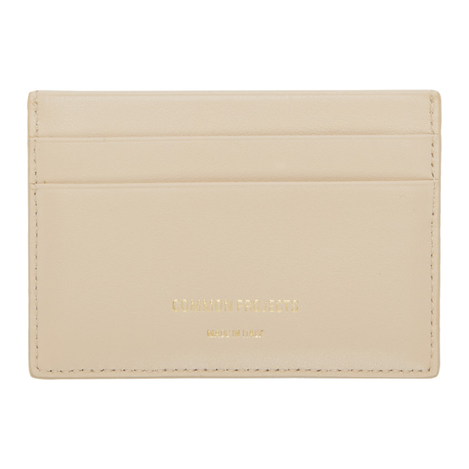 WOMAN BY COMMON PROJECTS PINK MULTI CARD HOLDER