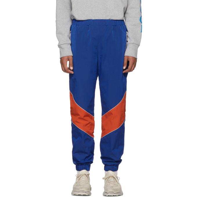 Blue & Orange Technical Lounge Pants