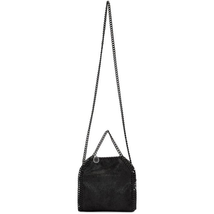 Mini Falabella Black Chain Tote Bag in 1000 Black