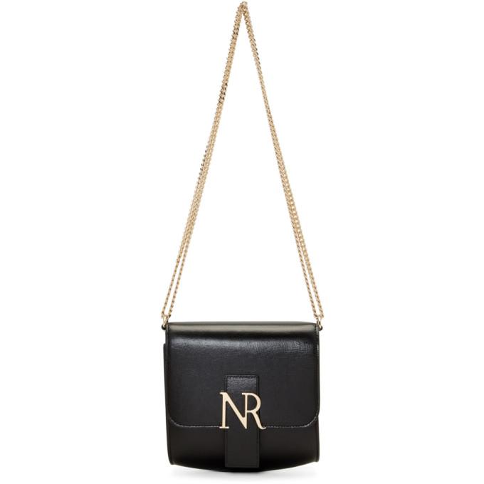 Black MM Small Shoulder Bag from SSENSE