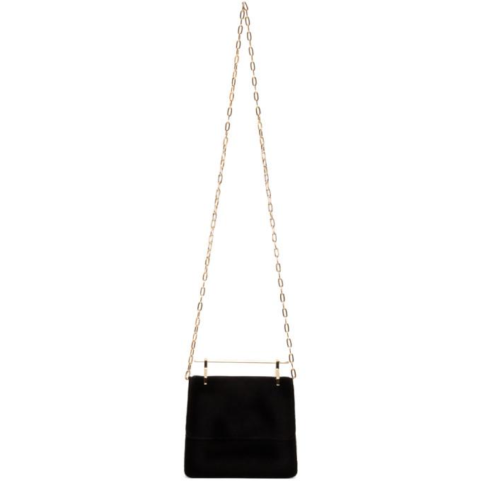 Black Velvet Mini Collectionneuse Bag from SSENSE