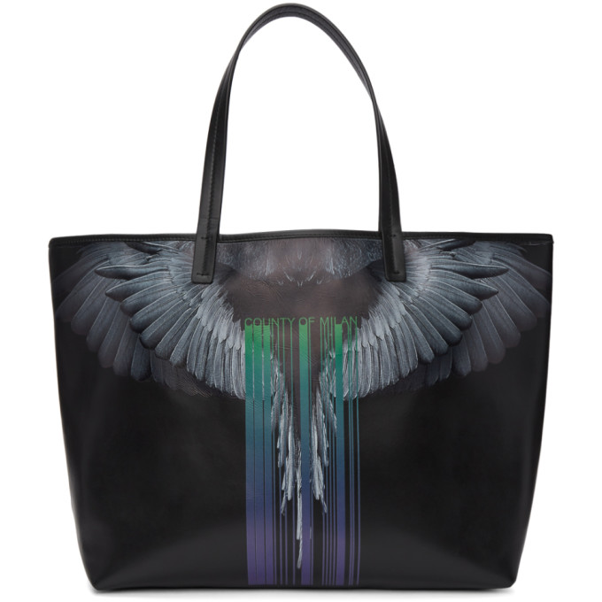 WINGS BARCODE TOTE