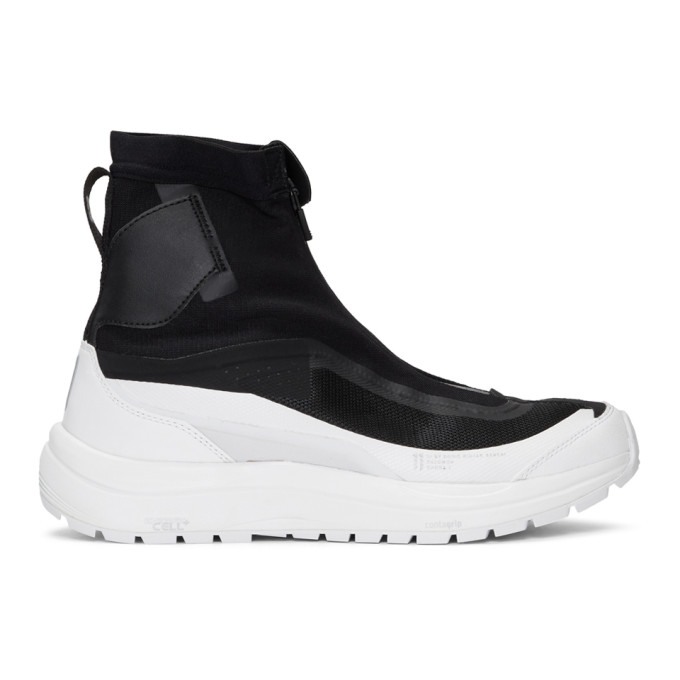 Black & White Salomon Edition Bamba 2 Sneakers by 11 By Boris Bidjan Saberi