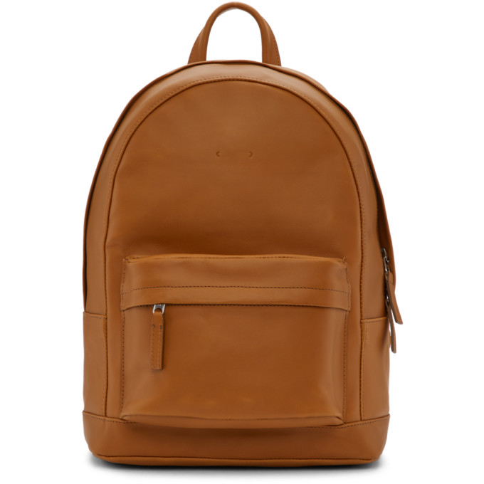 PB 0110 Pb 0110 Brown Mini Backpack