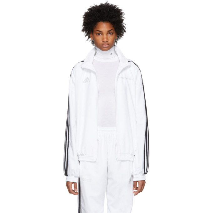 Gosha Rubchinskiy White Adidas Originals Edition Track Jacket in 3 White