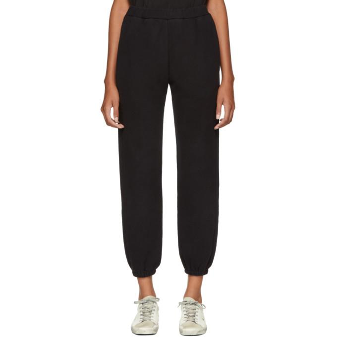 SIMON MILLER BLACK YUBA LOUNGE PANTS