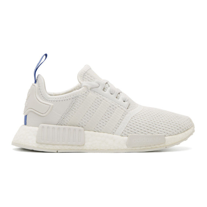 ADIDAS ORIGINALS WHITE NMD-R1 W SNEAKERS