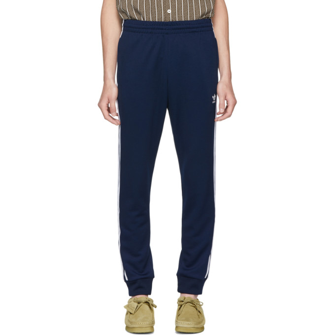 ADIDAS ORIGINALS NAVY SST LOUNGE PANTS