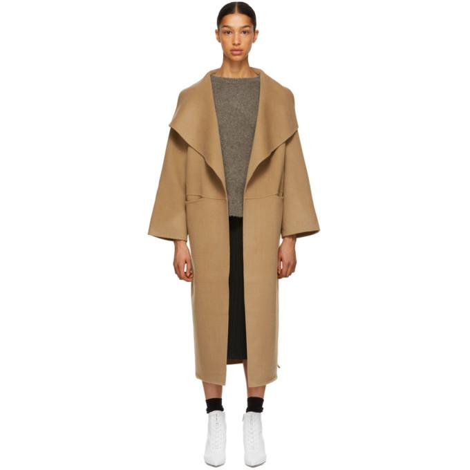 Tan Annecy Coat, 835 Camel
