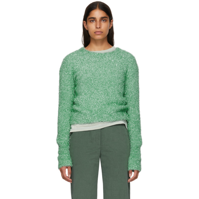 Metallic Sweater, Green