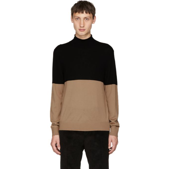 JOSEPH Novelty Knit Sweater in Black