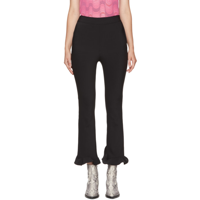 OPENING CEREMONY BLACK CIRCLE HEM TROUSERS