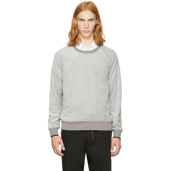 Velour Colorblock Sweatshirt