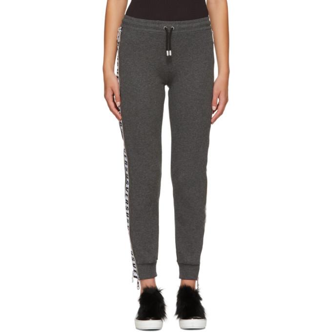 Grey Logo Tape Lounge Pants