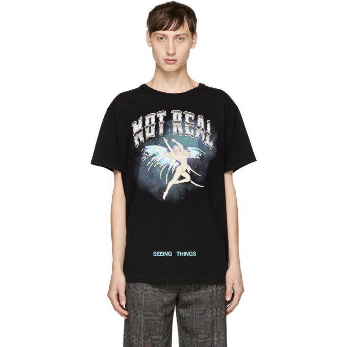 OFF-WHITE BLACK ANGEL T-SHIRT