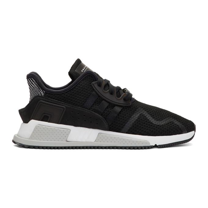 Adidas Originals Eqt Cushion Adv Sneakers In Black By9506 - Black In Black/black/white