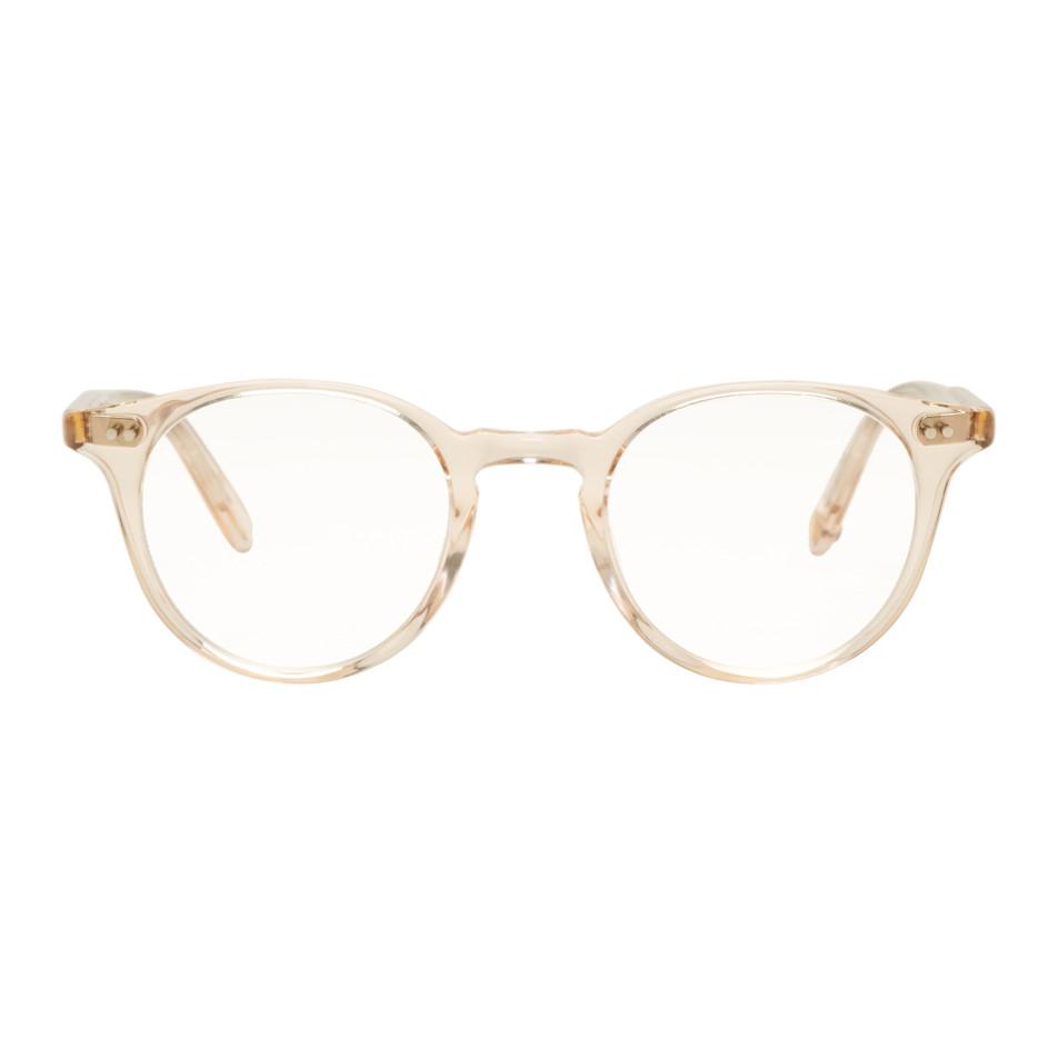 Beige Clune Glasses by Garrett Leight