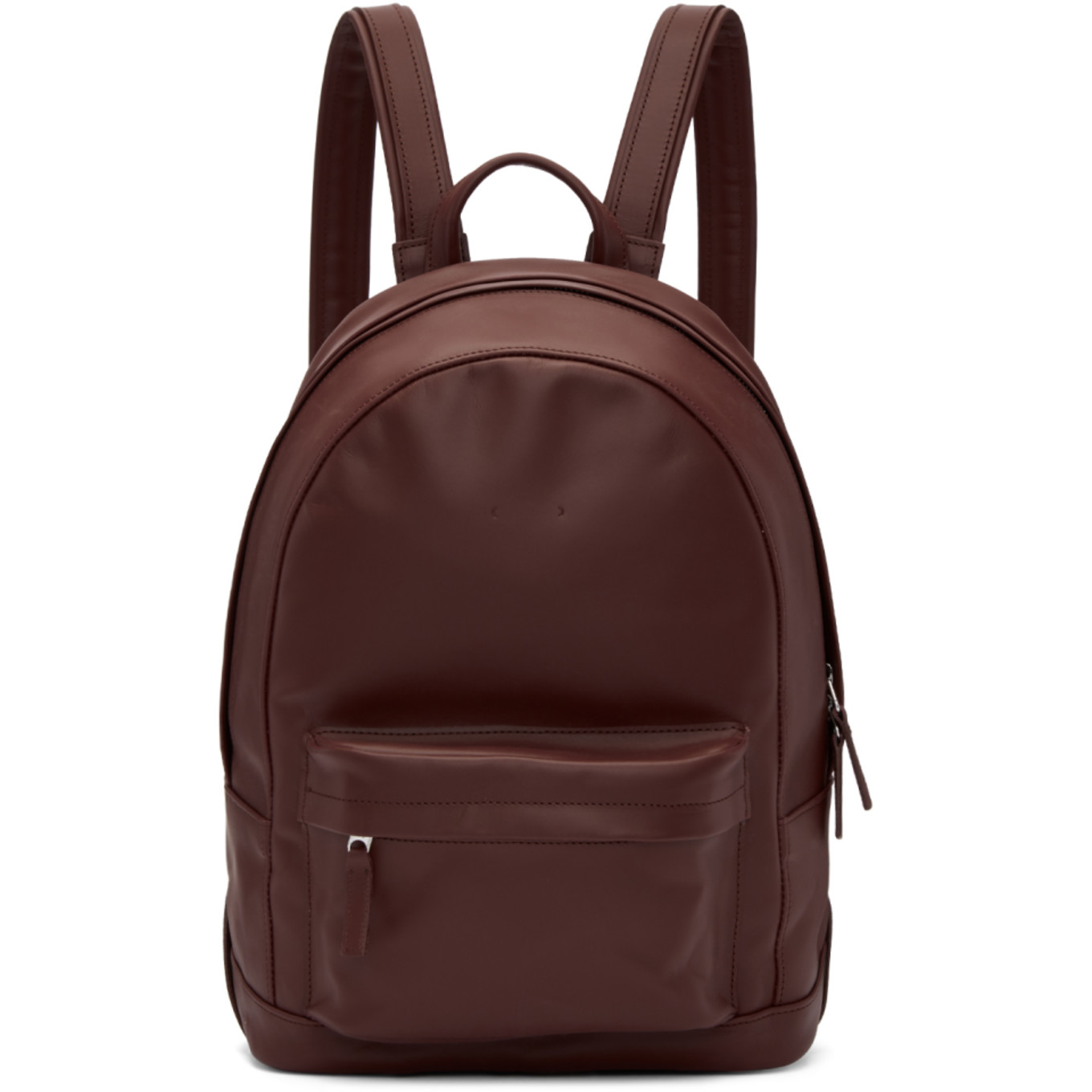 Burgundy Mini Ca 7 Backpack by Pb 0110