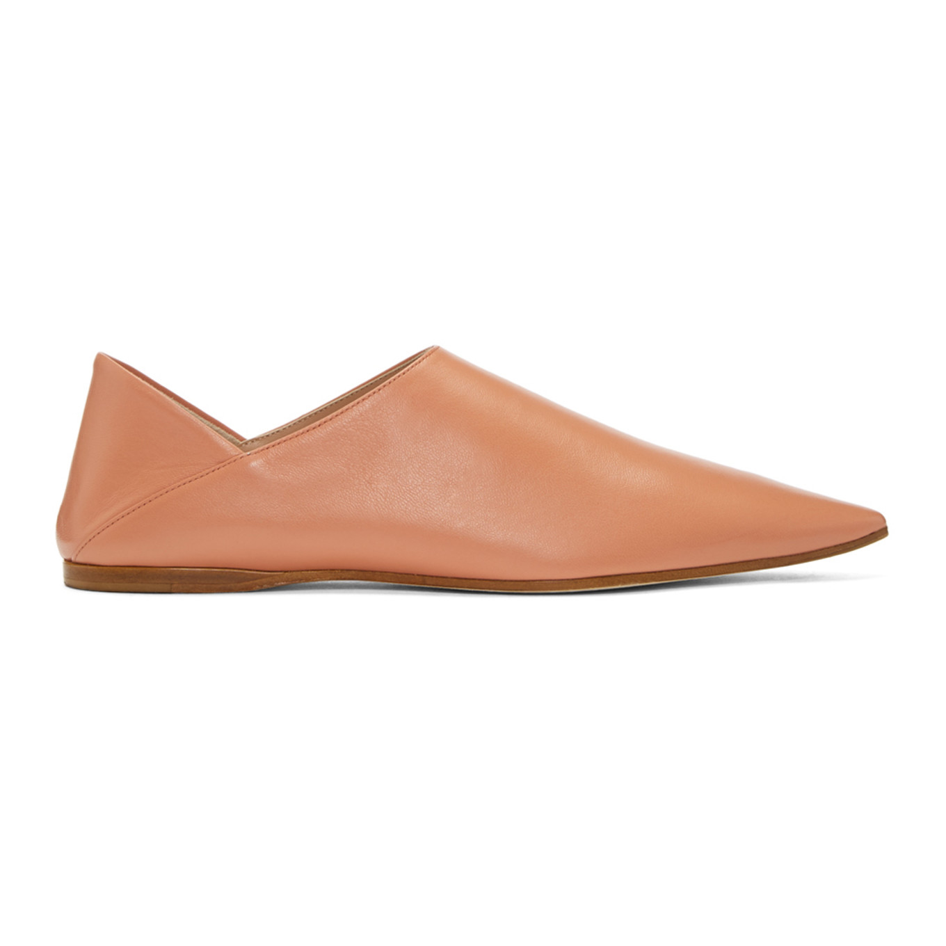 pink-aminata-slippers by acne-studios