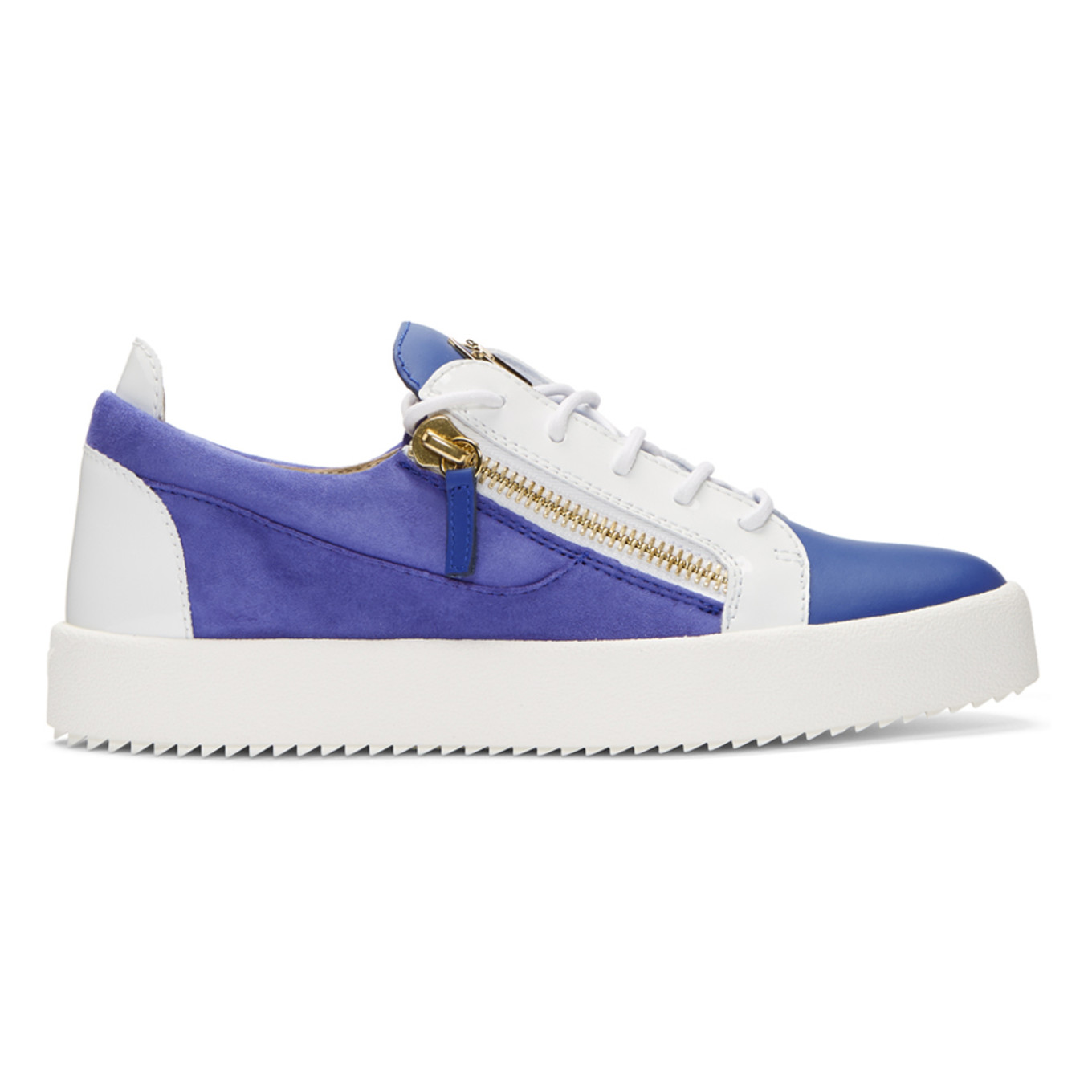 Giuseppe Zanotti Blue & White May London Sneakers