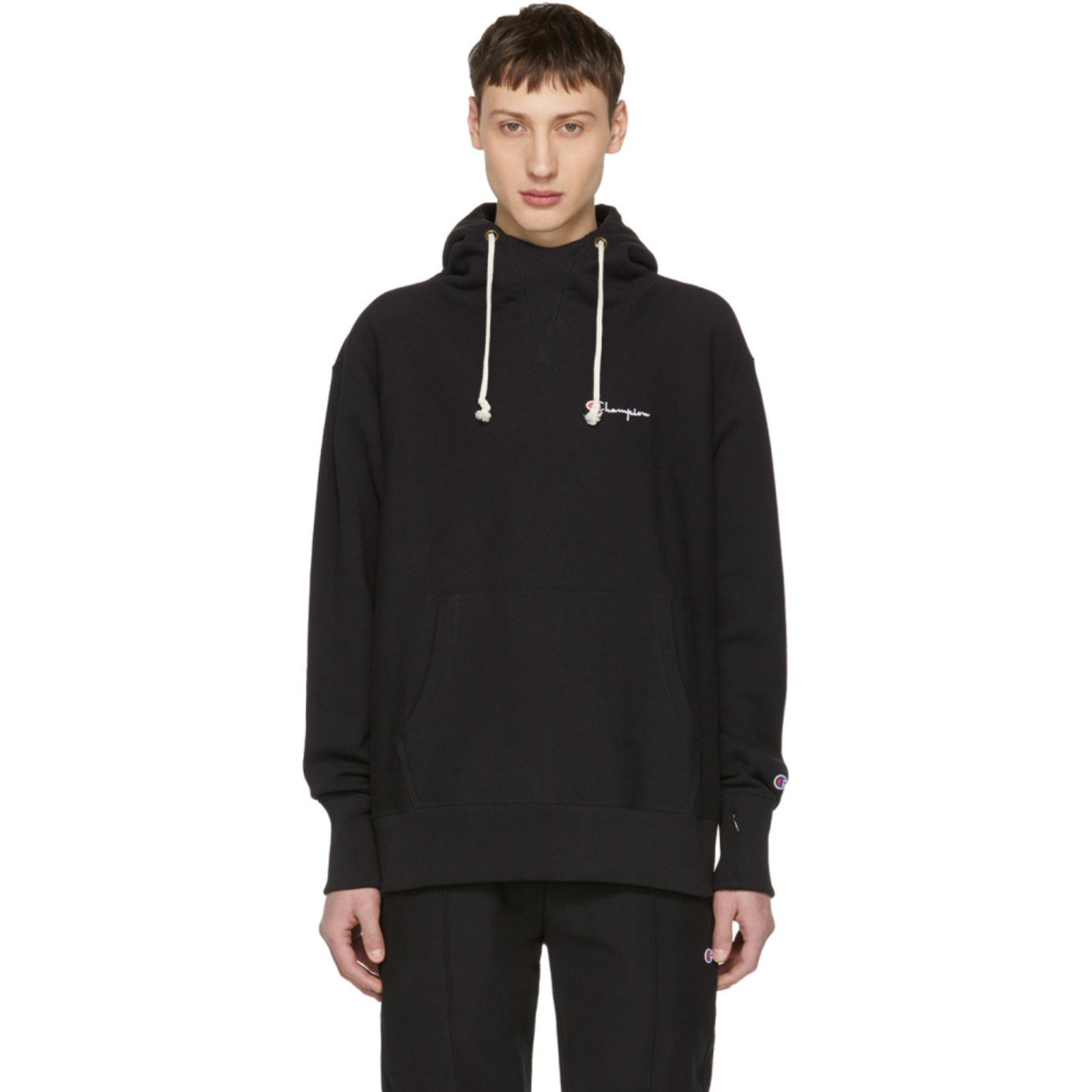 4169e8e3282b black-deconstructed-hoodie by champion-reverse-weave