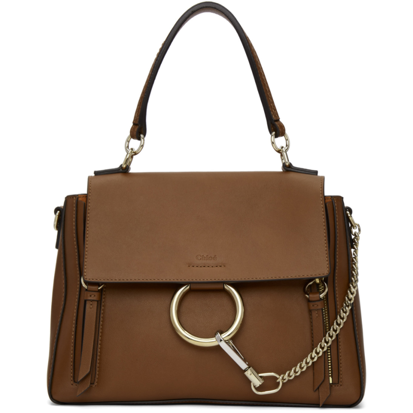 Tan Small Faye Day Bag by ChloÉ